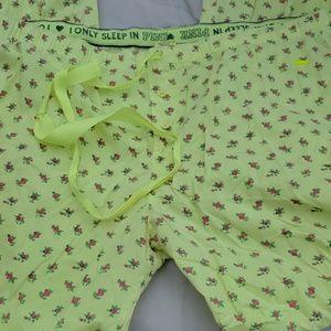 Victoria's secret PINK capri pant jammies medium